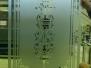Gestraald glas